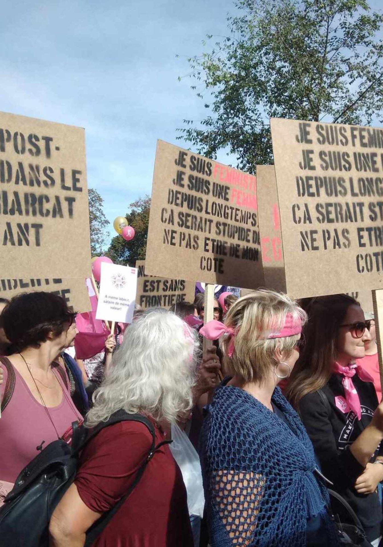 Six heures pour le changement féministe